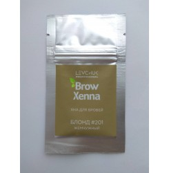 Хна для бровей BrowXenna (саше-рефил) БЛОНД 201 жемчужный блонд
