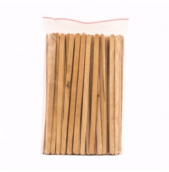 Шпатель в пакете узкий для бровей WowBrow 100шт (6мм)