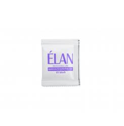 Гель-краска для бровей и ресниц ELAN (саше БЕЗ ОКИСЛИТЕЛЯ 01 черный)