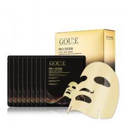 Маска с протеином золотых коконов шелкопряда GOU:E Pro-Derm Gold Silk Mask, 36 мл (чёрная упаковка)