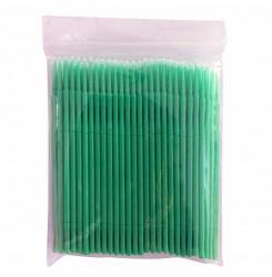 Микробраши в пакете 100шт / зелёный