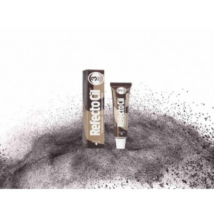 Краска для бровей и ресниц RefectoCil №3 натурально-коричневая Рефектоцил