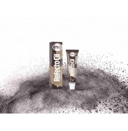 Краска для бровей и ресниц RefectoCil №3 натурально-коричневая