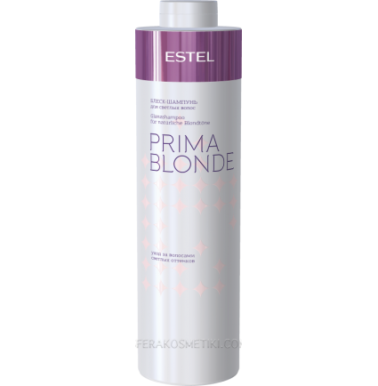 Шампунь-блеск для светлых волос Estel Professional Prima Blonde, 1000 мл