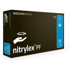 Перчатки нитриловые Nitrylex черные,100 шт. в упаковке, размер M