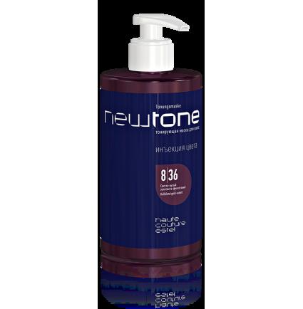 Тонирующая маска для волос 8/36 (светло-русый золотисто-фиолетовый) ESTEL HAUTE COUTURE NEWTONE, 435 мл