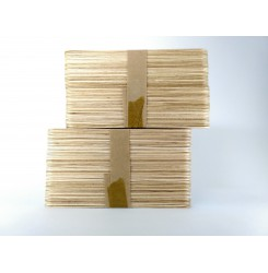 Деревянный шпатель (100 шт. в упаковке)