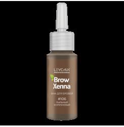 Хна для бровей BrowXenna Шатен 106 (пыльный коричневый) / флакон