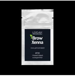 Хна для бровей BrowXenna 110 (графитовый концентрат) / саше / УЦЕНКА