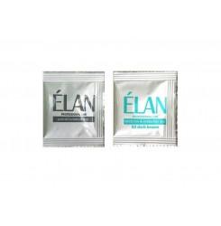 Гель-краска для бровей и ресниц ELAN (саше с окислителем 02 темно-коричневый)