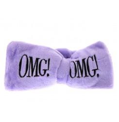 Повязка для волос косметическая Double Dare OMG (фиолетовая)