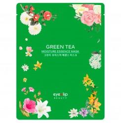 Маска тканевая для лица Eyenlip Moisture Essence Mask / GREEN TEA