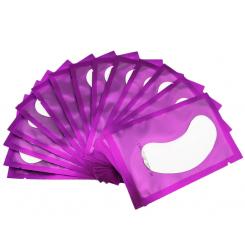 Патчи гелевые (фиолетовая упаковка) для ламинирования и наращивания ресниц (пара)
