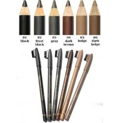 Карандаш для бровей Eyebrow Pencil Malva 001