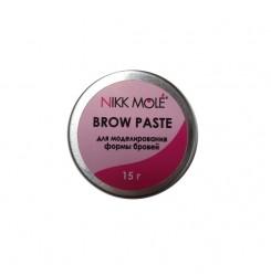 Паста для бровей BROW PASTE Nikk Mole / железная баночка, 15 г