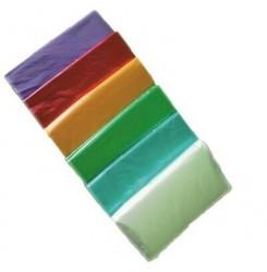 Пеньюар одноразовый 50 шт в упаковке / полупрозрачные цветные