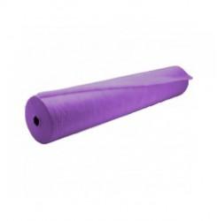 Простынь одноразовая в рулоне 100 м 20 гр./кв.м (фиалка) 80 см, без перфорации