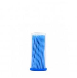 Микробраш 100 шт. в тубусе синий (Regular) L