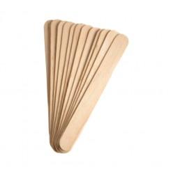 Шпатель деревянный узкий, 50 шт в уп. (9 мм)