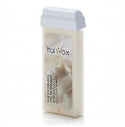 Воск для депиляции в картридже ItalWax 100 мл / кассетный - белый шоколад