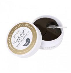 Патчи гидрогелевые Petitfee Black Pearl&Gold Hydrogel Eye Patch