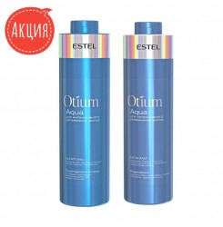Шампунь и бальзам Estel Otium Aqua 1000 мл (набор)