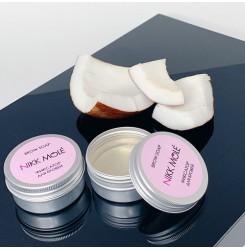 Мыло-фиксатор для бровей Nikk Mole Brow Soap (Кокос) / жестяная баночка