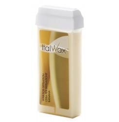 Воск для депиляции в картридже ItalWax 100 мл / кассетный - банан