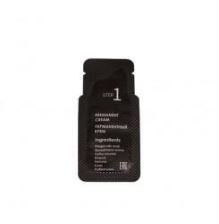 Перманентный крем Ekkobeauty для био фиксации бровей / 1-й состав, саше 1 мл