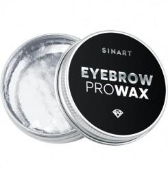 Воск для оформления бровей Sinart EYEBROW PRO WAX CRYSTAL / белый, 30 г