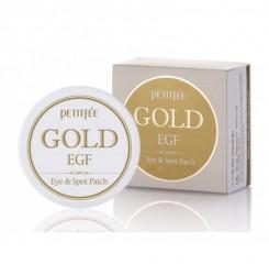 Патчи гидрогелевые Petitfee Gold & EGF Patch (бежевая упаковка)