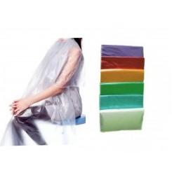 Пеньюар одноразовый 100 шт в упаковке / полупрозрачные цветные