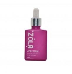 Сыворотка с гиалуроновой кислотой Active Serum ZOLA / 30 мл