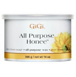 Воск натуральный медовый в банке GIGI All Purpose Honee, 396г