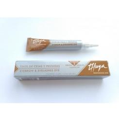 Краска для бровей и ресниц Thuya Professional Line светло-коричневая Туя