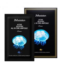 Сыворотка 3 в 1 с экстрактом медузы JM Solution Active Jellyfish All In One Ampoule Prime / саше