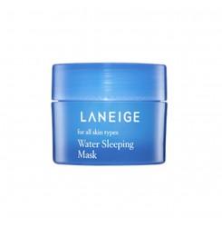 Маска увлажняющая ночная Laneige Water Sleeping Mask,15 мл / голубая