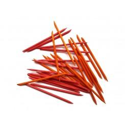 Апельсиновые палочки 50 шт в упаковке КРАСНЫЕ / 11 см
