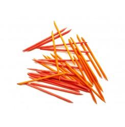 Апельсиновые палочки 50 шт в упаковке ОРАНЖЕВЫЕ / 11 см