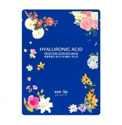 Маска тканевая для лица Eyenlip Hyaluronic Acid Moisture Essence Mask / синяя