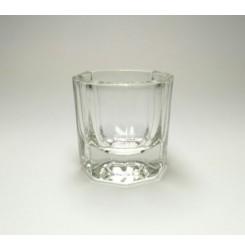 Стеклянный стаканчик для разведения хны, краски , мономера