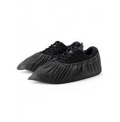 Бахилы чёрные, 100 шт в упаковке (50 пар)