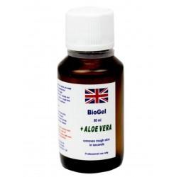 Биогель для педикюра и биоманикюра с алое вера BioGel Aloe Vera, 60 мл