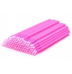 Микробраши в пакете 100шт / розовый