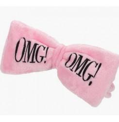Повязка для волос косметическая Double Dare OMG (нежно - розовая)