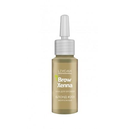 Хна для бровей BrowXenna Блонд 201 (жемчужный блонд) / флакон