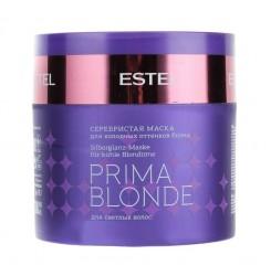 Маска серебристая для холодных оттенков блонд Estel Professional Prima Blonde 300 мл