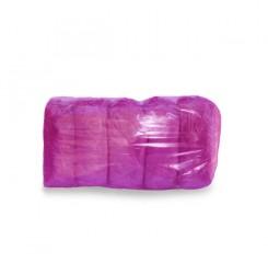 Бахилы фиолетовые, 100 шт в упаковке (50 пар)