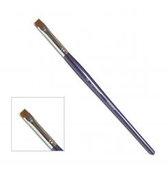 Кисть синтетика креатор Synthetic CREATOR / синяя ручка # 16