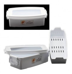 Контейнер для стерилизации и замачивания инструментов, 3 л белый / БОЛЬШОЙ
